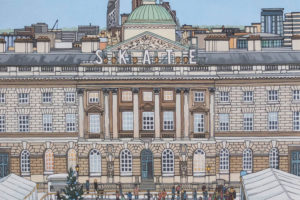 Somerset House at Christmas