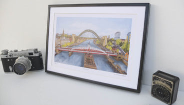 River Tyne Limited Edition Little Newcastle Prints
