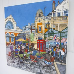 Covent Garden original painting by Jonathan Chapman