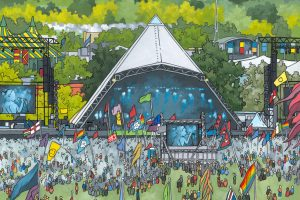 Glastonbury Animated