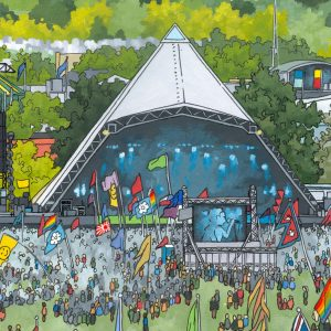 Pyramid Stage Glastonbury