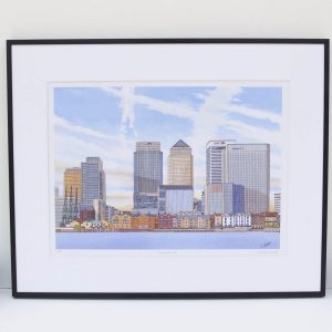 Canary Wharf Limited Edition Print