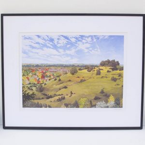St Catherine's Hill Winchester Limited Edition Print