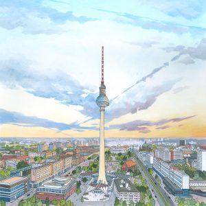Berliner Fernsehturm-by-Jonathan-Chapman