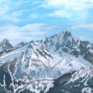 Mont Blanc by Artist Jonathan Chapman