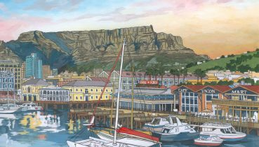 V&A Waterfront Cape Town (detail) by Artist Jonathan Chapman