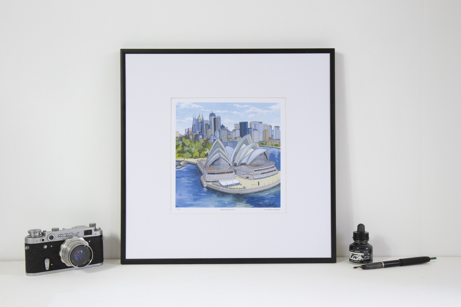 Sydney Opera House Limited Edition Print by Jonathan Chapman