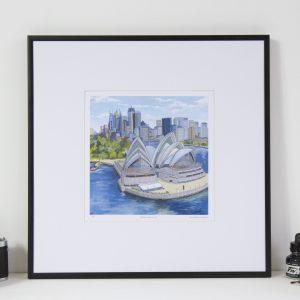 Sydney Opera House Limited Edition Print by Jonathan Chapman