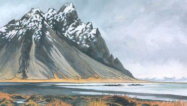 Vestrahorn Iceland by Jonathan Chapman