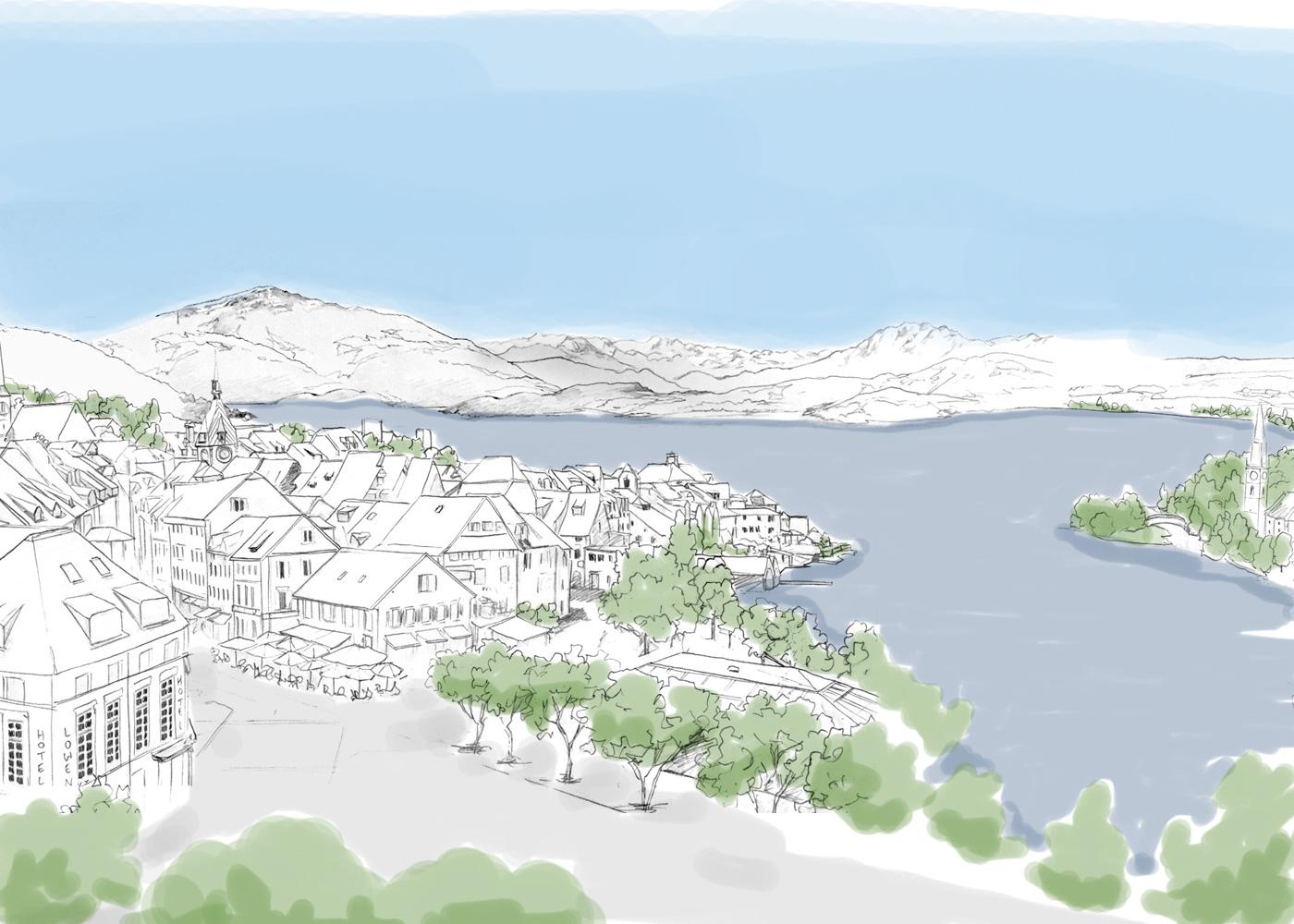 Lake Zug Commission Artist Jonathan Chapman