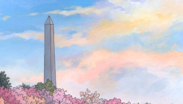 Washington Monument Illustration by Jonathan Chapman