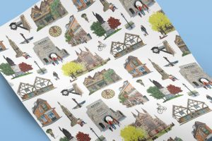 Winchester Wrapping Paper