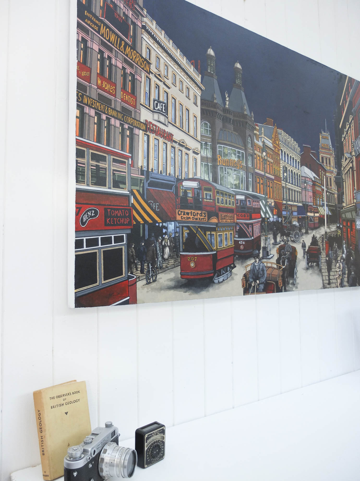 Lord Street Original Painting by Jonathan Chapman
