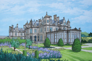 Stoke Rochford Illustration