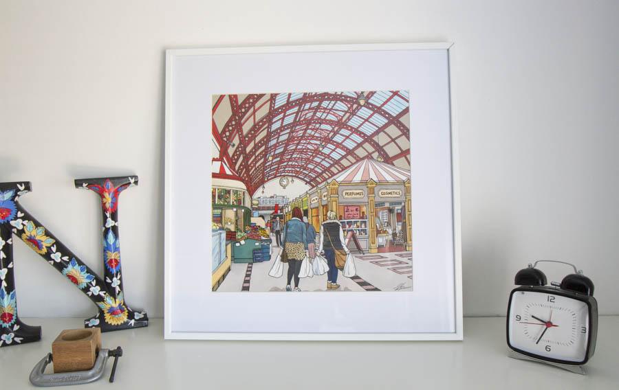 Grainger Market Newcastle by Jonathan Chapman MA
