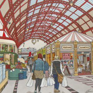 Grainger Market Newcastle by Jonathan Chapman