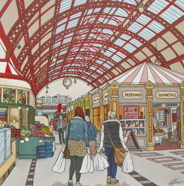 Grainger Market Newcastle by Jonathan Chapman
