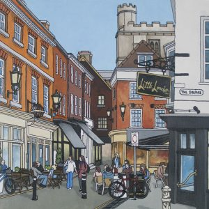 The Square Winchester by Jonathan Chapman