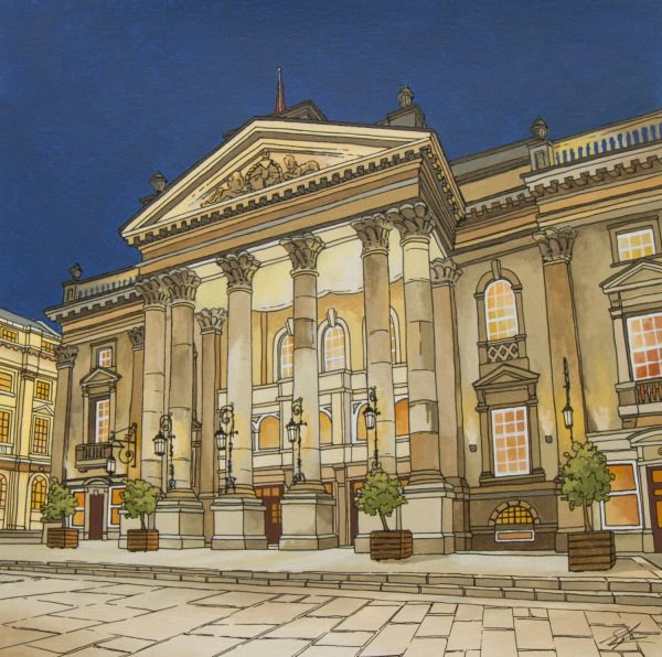 Theatre Royal Newcastle by Jonathan Chapman