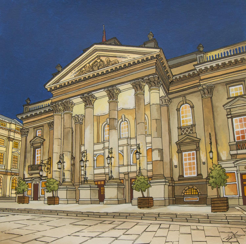 Theatre Royal Newcastle by Jonathan Chapman
