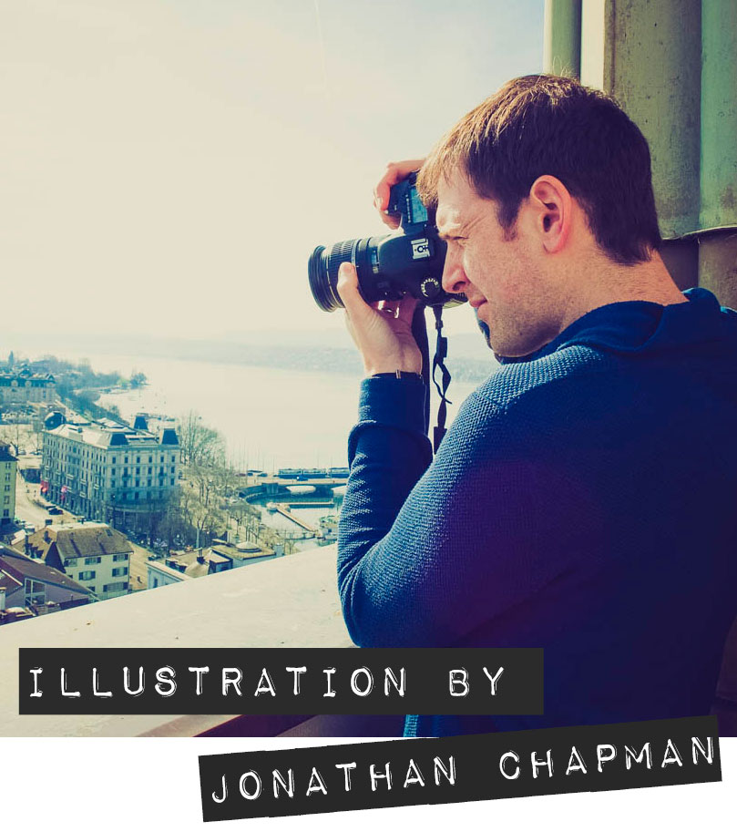 Portrait of Jonathan Chapman