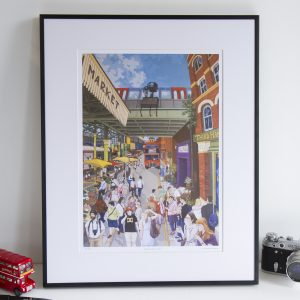 Borough Market Limited Edition Print by Jonathan Chapman
