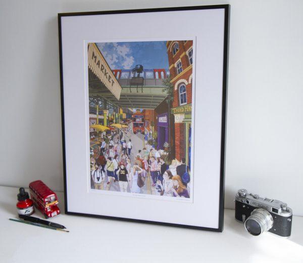 Borough Market Limited Edition Print by Jonathan Chapman