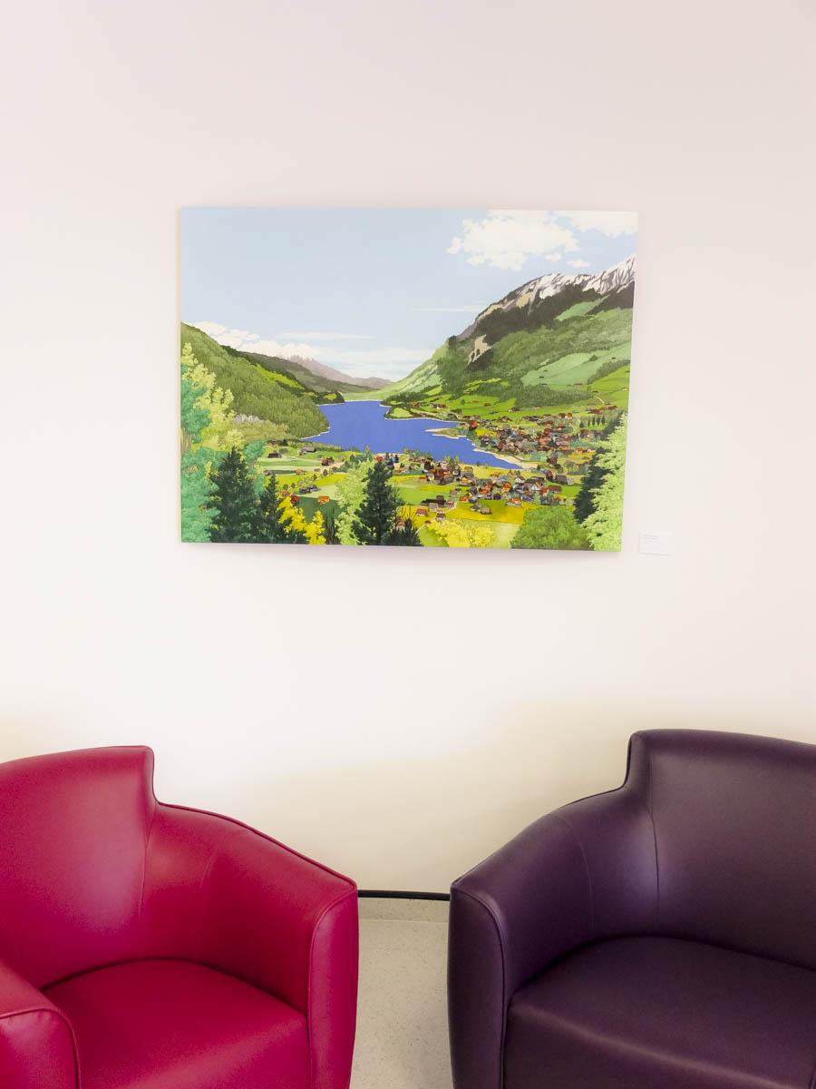 Above Lake Sarnen by Jonathan Chapman MA