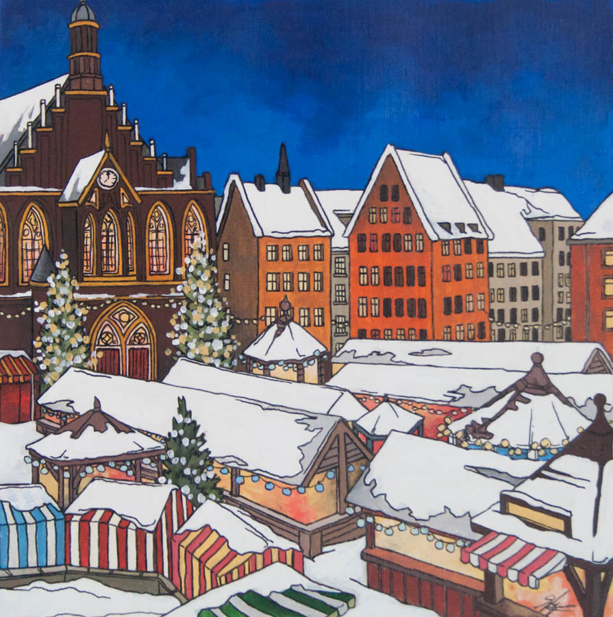 Christmas Market Switzerland by Jonathan Chapman MA