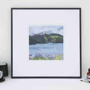 Clouds Over the Rigi Limited Edition Print by Jonathan Chapman MA