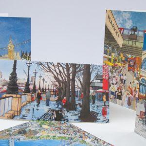 London Greeting Card Stationery Box
