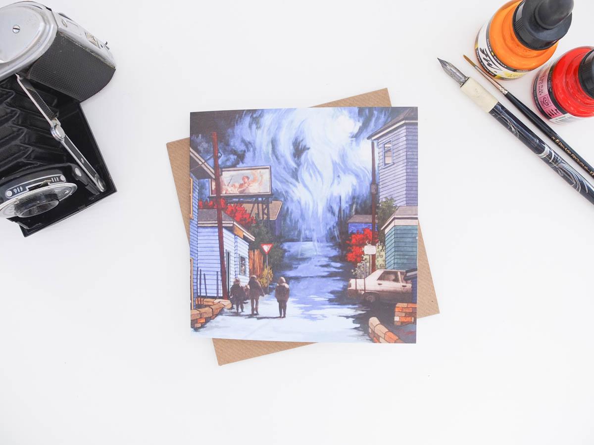 Rainscape Greeting Card