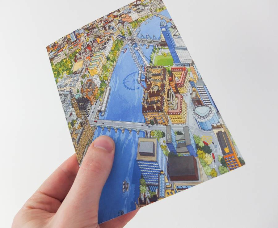 Explore London Greeting Card