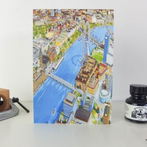 Explore London Greeting Card