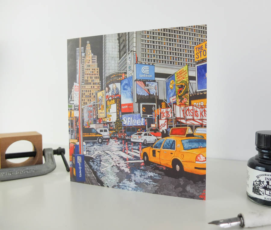 The Buck Fifty Stops Here Greeting Card