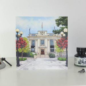 Islington Town Hall Greeting Card