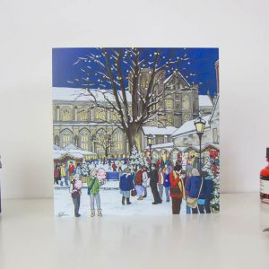Winchester Christmas Market Greeting Card