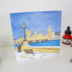 Westminister Walk Greeting Card