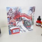 Goathland Steam Train Greeting Card
