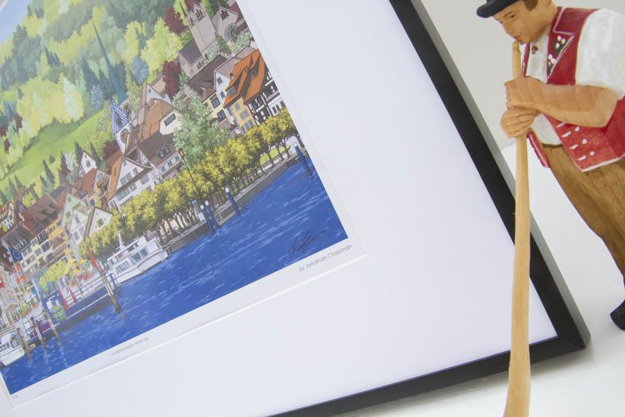 Landsgemeindeplatz Limited Edition Print