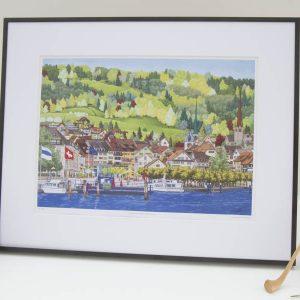 Landsgemeindeplatz Altstadt Zug Limited Edition Print