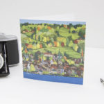 Old Town Zug Greeting Card
