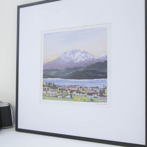 Pilatus Sunset Limited Edition Print