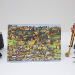 Walchwil Greeting Card by Jonathan Chapman MA