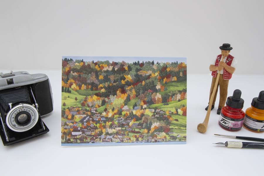 Walchwil Greeting card-5