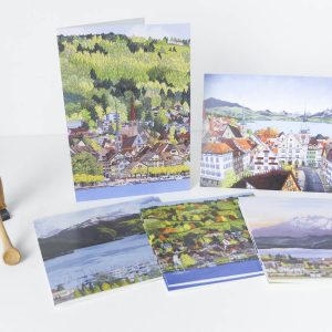 Zug Greeting Card Stationery Box