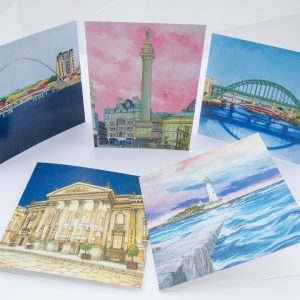 Tyneside Greeting Card Stationery Box
