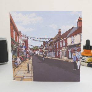 Bishops Waltham Greeting Card
