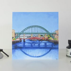 Bridges From the Eye Greeting Card