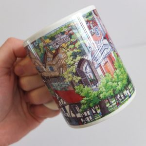Winchester Collage Coffee Mug